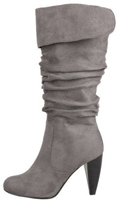 ShopStyle: Suede Cuff Boots