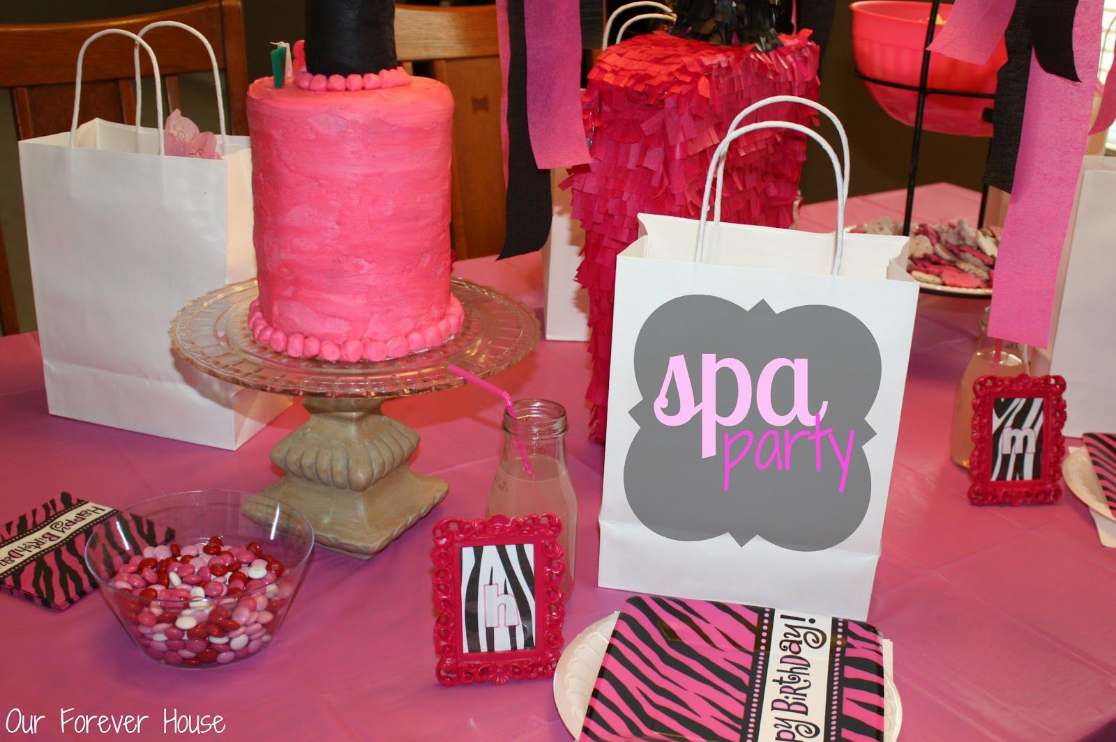 Girls Spa Party Decorations