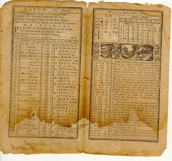 Benjamin Banneker Almanac Benjamin banneker almanac | math ...