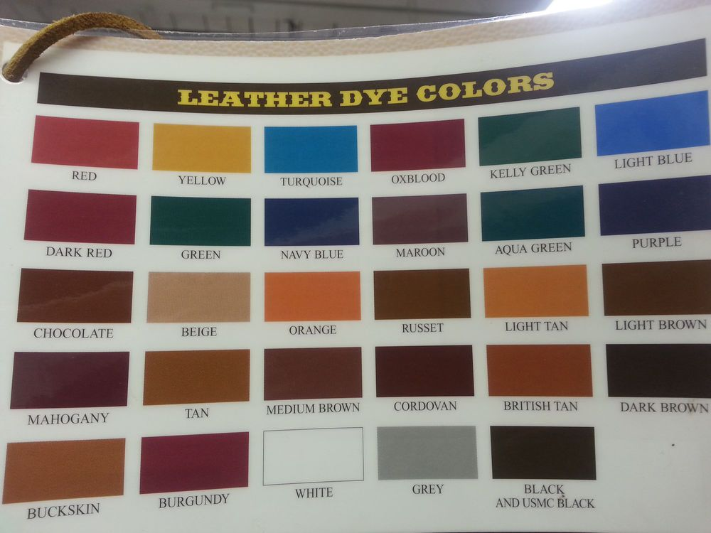 Tandy Fiebings Leather Dye 32 Oz 17 Colors To Pick From Ebay