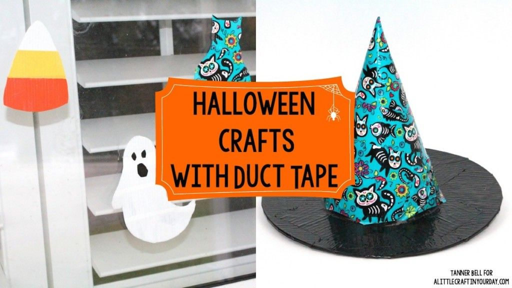 DIY Halloween Crafts with Duct Tape! - A Little Craft In Your DayA Little Craft In Your Day