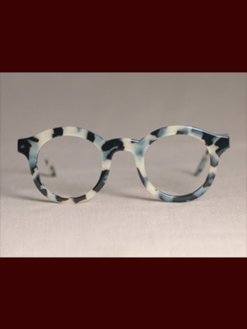 d6729ef8077 Custom White Tortoise Shell Glasses by Indivijual Custom Eyewear VERY  expensive!!