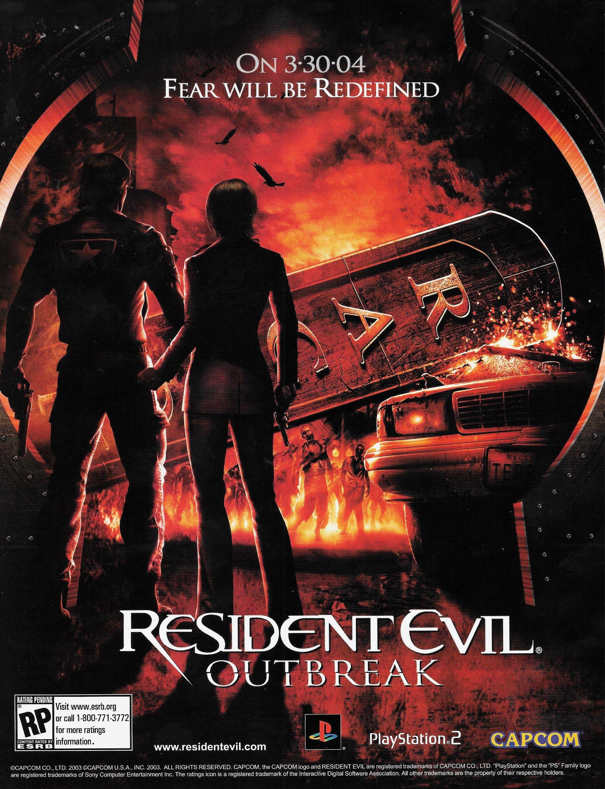 Resident Evil Outbreak Portadas Videojuegos Arte