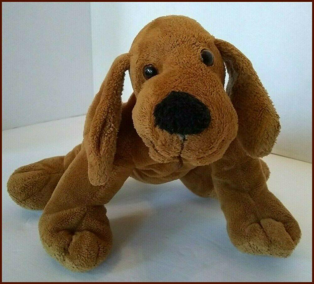 Cvs Hound Dog Plush Brown 11 Floppy Soft Toy Stuffed Animal Lots Of Wear Cvs In 2020 Pet Toys Dinosaur Stuffed Animal Hound Dog