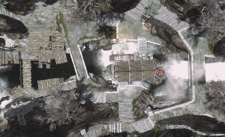 A few more Skyrim maps (now with better mods & graphics ...