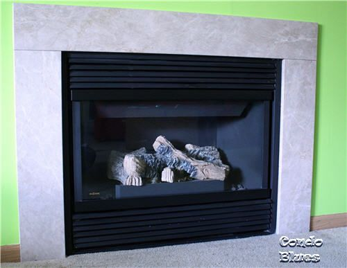 How To Paint A Gas Fireplace Update An Outdated Metal Surround The Quick And Easy Way With