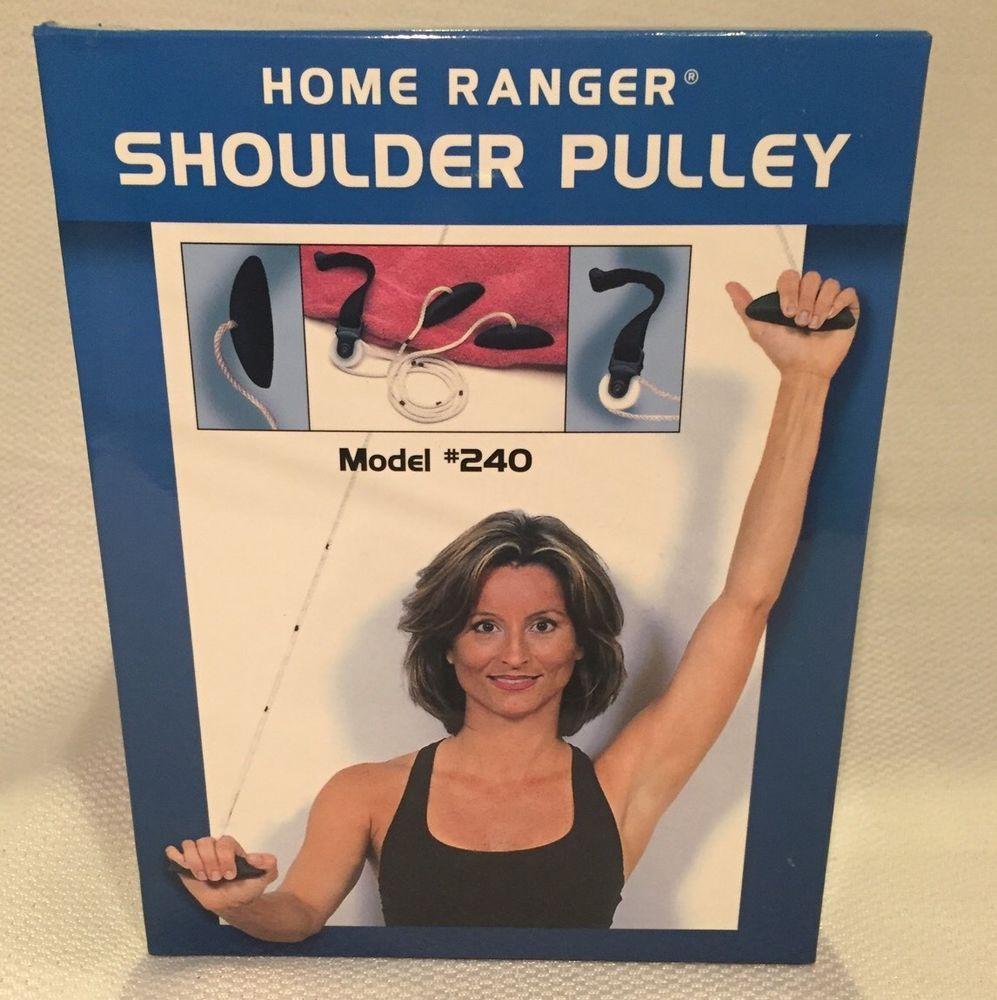 Home Ranger Shoulder Pulley Overdoor Range Of Motion Over Door Exerciser  240 | EBay