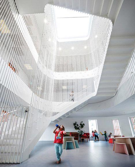 Cobe 39 s copenhagen kindergarten designed as a village for - Innenarchitektur paderborn ...