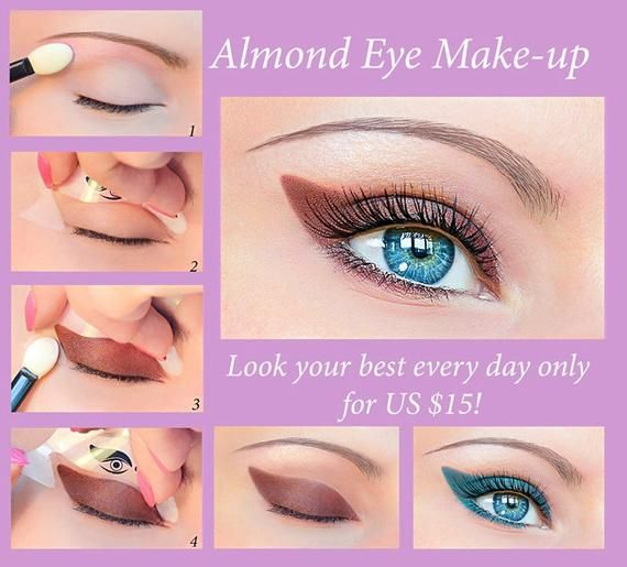 EYELINER 2in1 Quick Makeup Stencil and Quick Eyeliner Stickies SPECIAL Offer Free Shipping