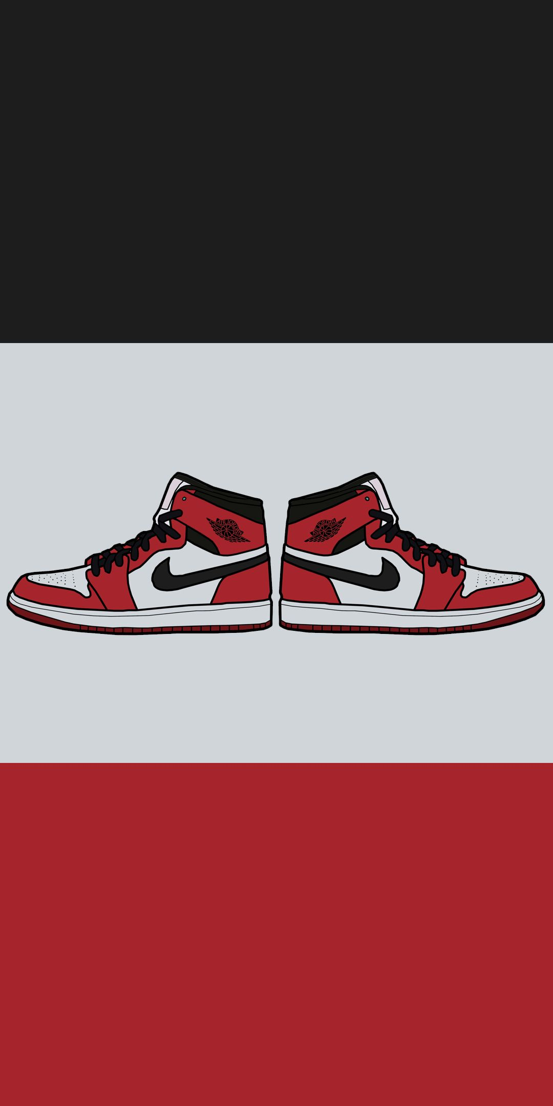 Wallpaper Nike Airjordan1 Chicagobulls Nba Shoes Jordan