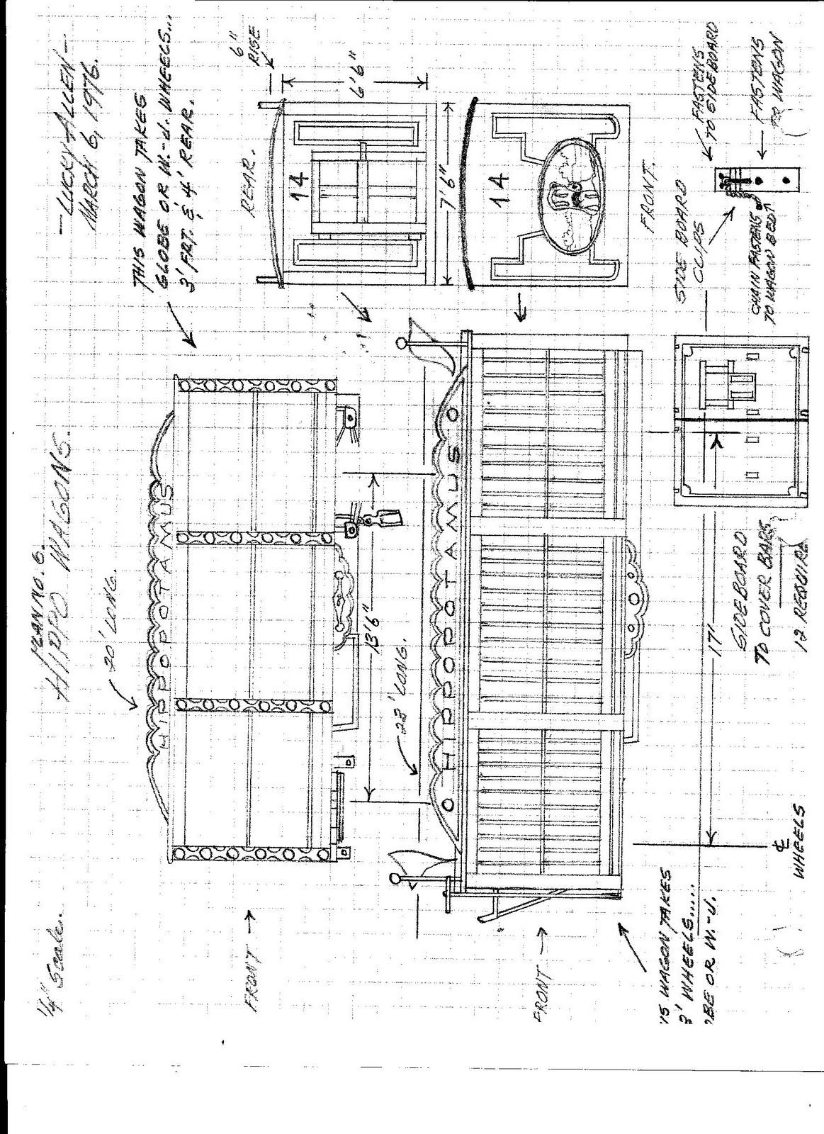 Image Result For Plans For A Model Circus Wagon