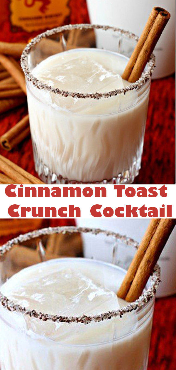 Cinnamon Toast Crunch Cocktail  #recipes #recipe #cookrecipes #recipebook #recipeoftheday #drinks #drinkrecipes #cocktailrecipes #cocktails #cocktaildrinks #cinnamon #cinnamontoastcrunch