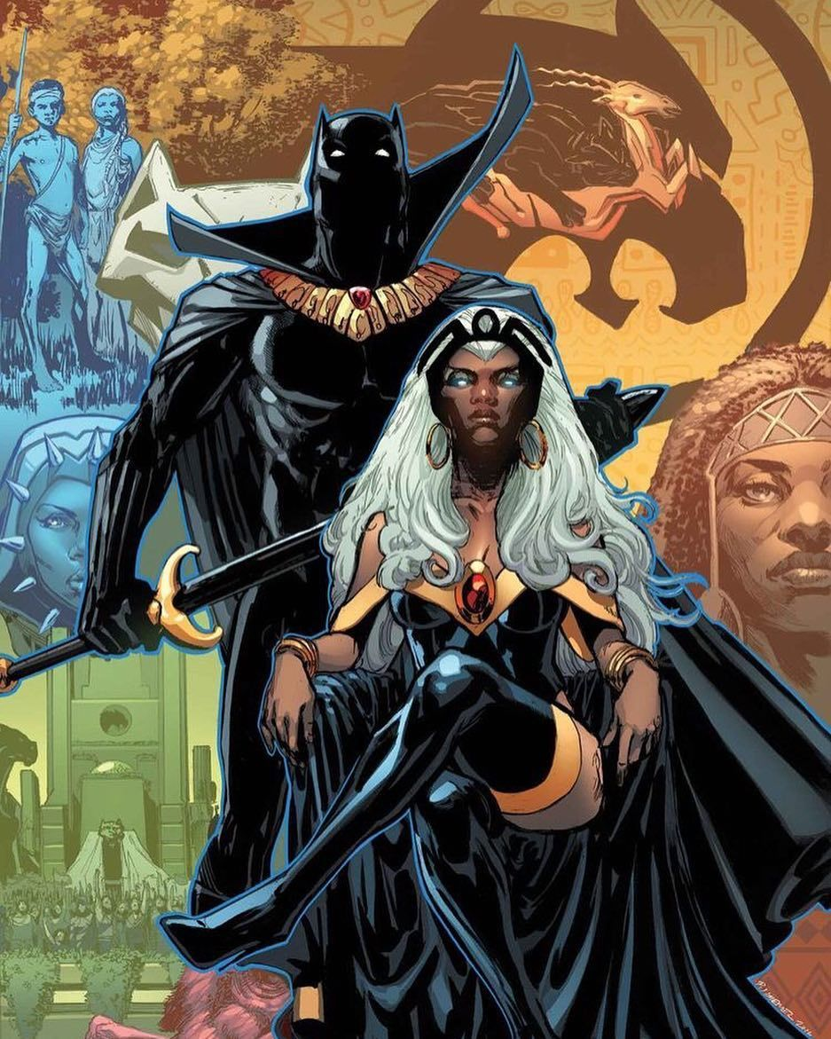 STORM SEEKED BLACK PANTHER'S HELP