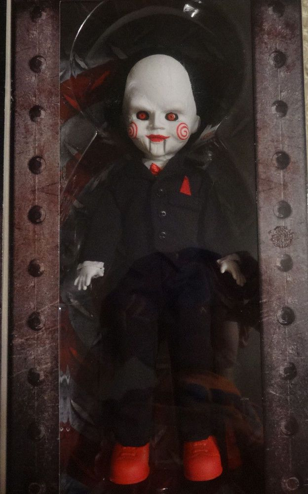 """Billy The Puppet 10/"""" Action Figure Living Dead Dolls Saw Mezco"""