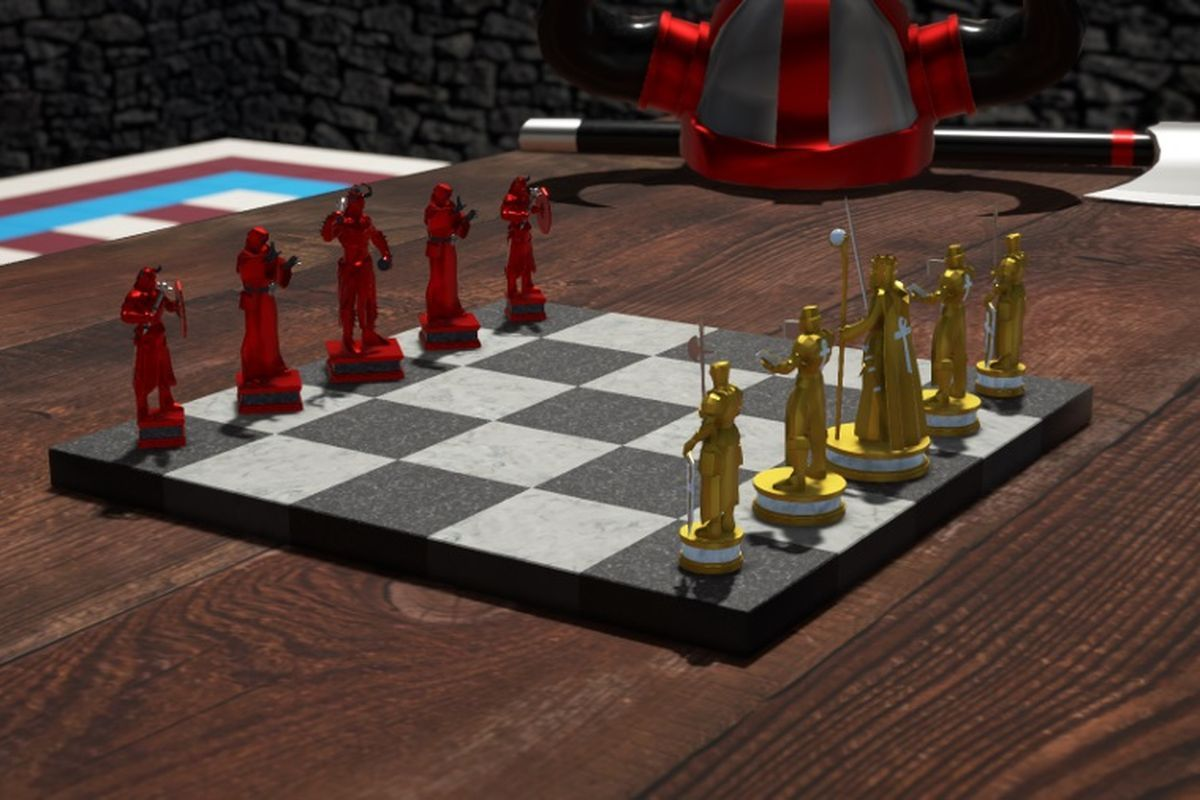 Simple chess variant strips down an ancient classic