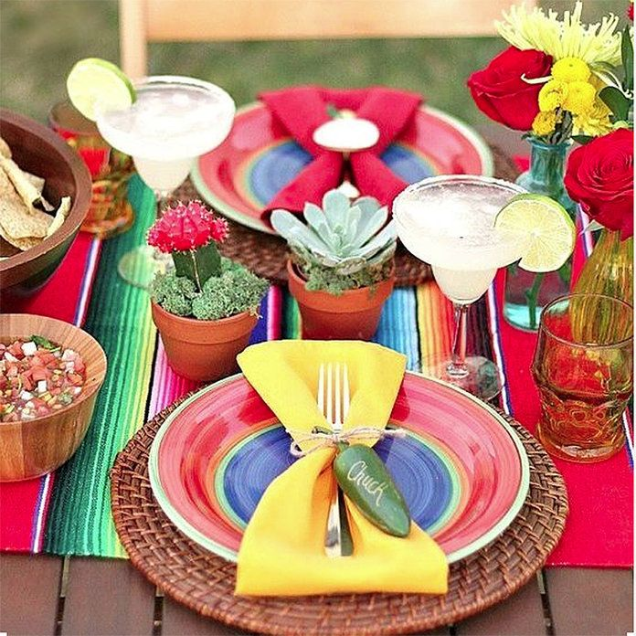 Mexican Themed Dinner Party Ideas Part - 43: Food · How To Throw A Mexican-Themed Dinner Party ...