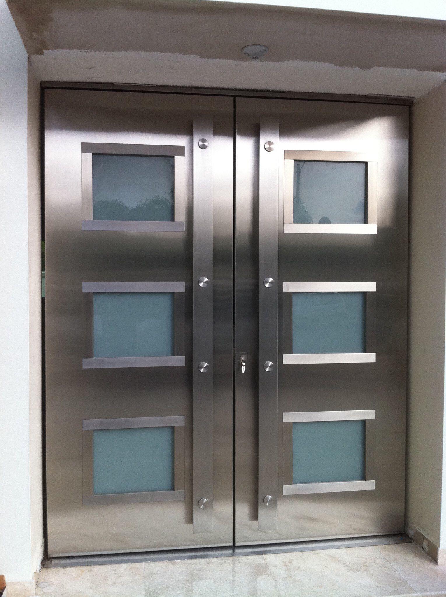 Stainles Steel Entry Door My Work 2 Pinterest Doors Steel And