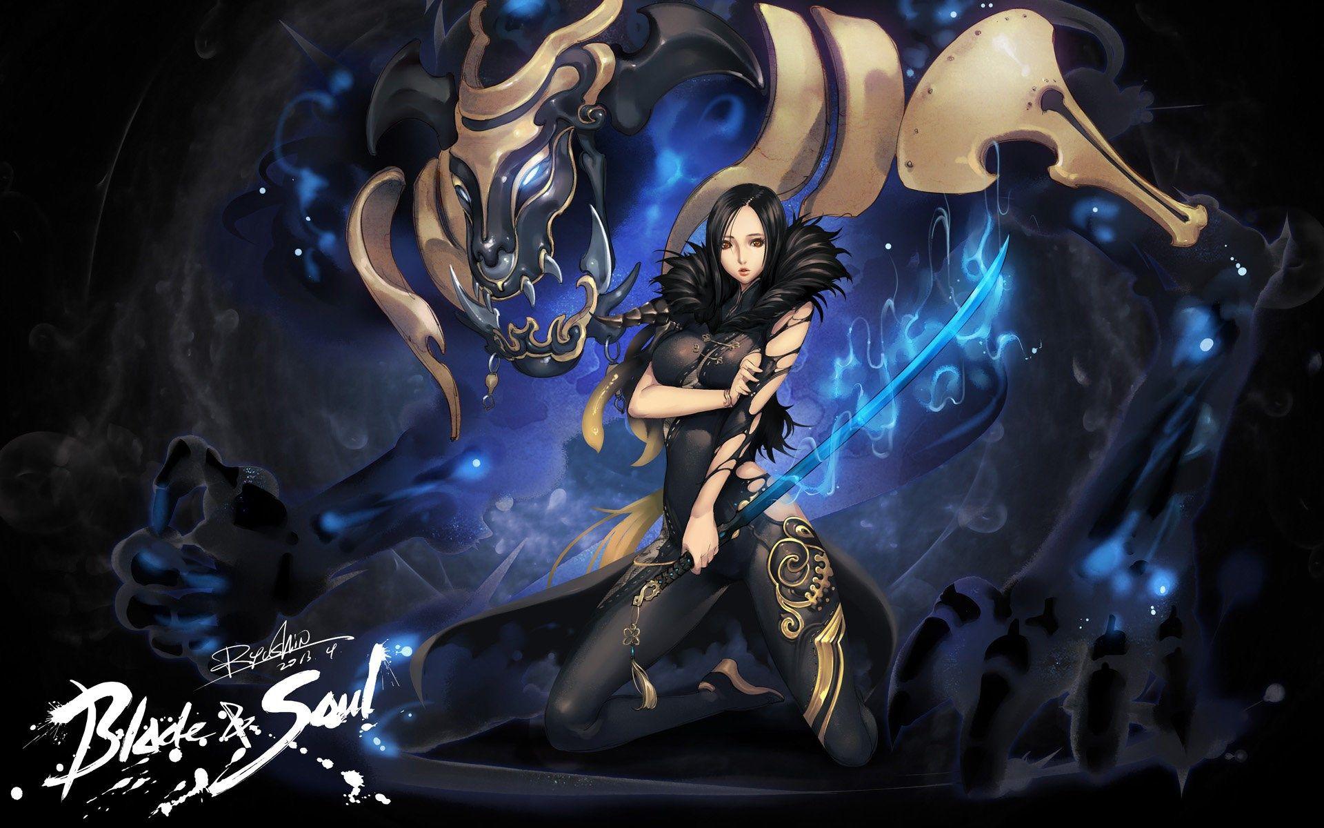 2017 03 28 Blade And Soul Wallpaper Desktop Nexus Wallpaper 1945430 Blade And Soul Fan Art Blade And Soul Anime