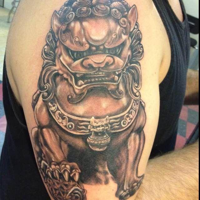 25b4c7aae cute japanese foo dog tattoo meaning | Best Tattoo design Ideas ...