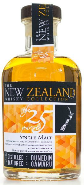 The New Zealand Whisky Collection The 25yo (46%, The New Zealand Whisky Company, 2014):