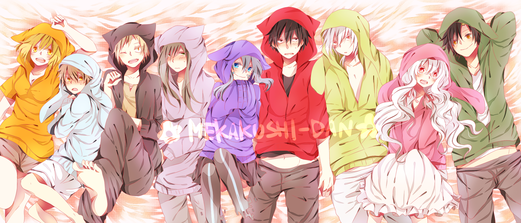 Pajama Party. [Kagerou Project / Mekakucity Actors