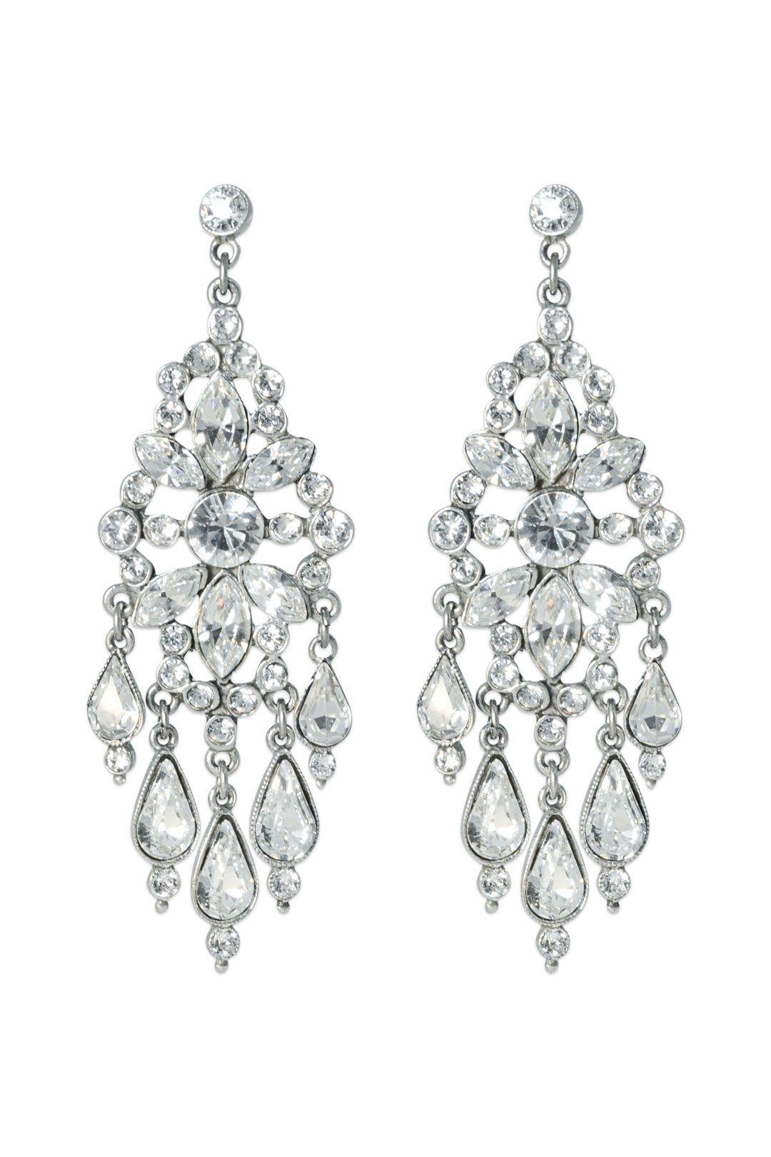 Clara chandelier earrings chandelier earrings gatsby and wedding clara chandelier earrings arubaitofo Images