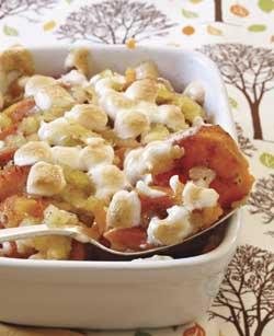 Sweet Potato and Pineapple Casserole #pineapplecasserole