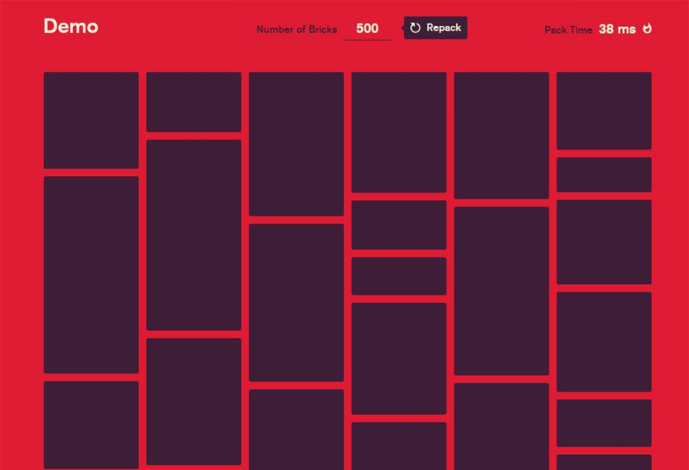 Create Fast Masonry Grid Layouts with Bricks js | Graphic Design