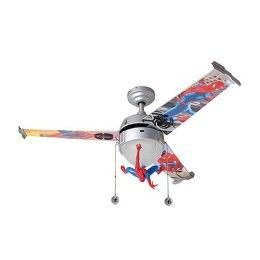 Spider man ceiling fan shop home interiordesign kaboodle boys spider man ceiling fan shop home interiordesign kaboodle aloadofball Gallery