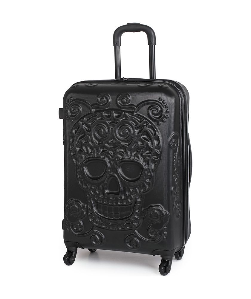 Buy it Luggage Medium Skull Suitcase - Black at Argos.co.uk - Your ...