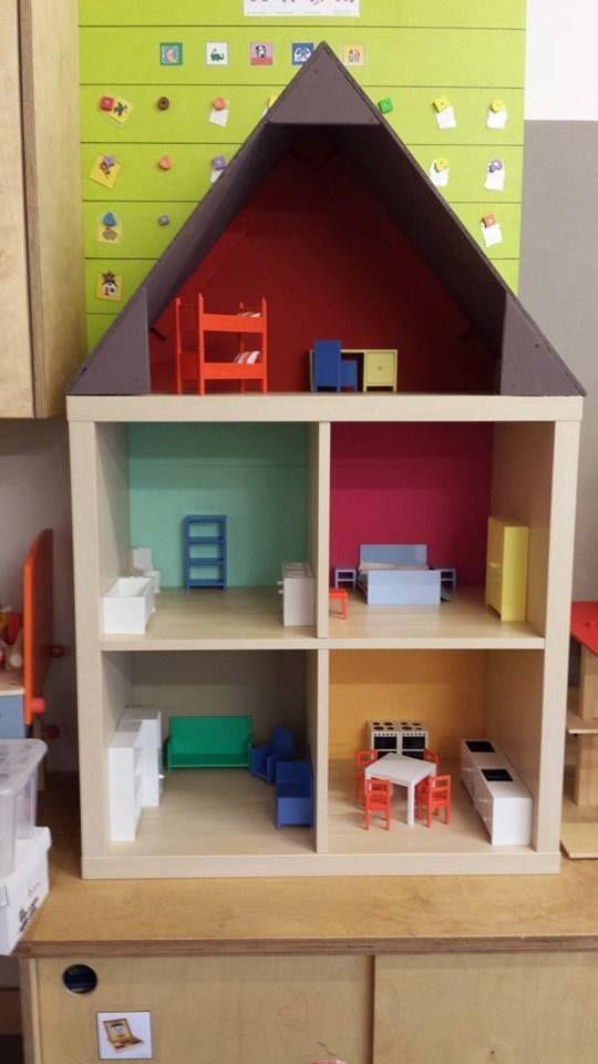 Poppenhuis Van Ikea Kast Huis Ikea Kast Poppenhuizen En