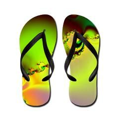 0f494bb72 Surreal Spring Flip Flops  Misc - Catch All  Flip Flop Mania.  flipflops   cafepress  circusvalley  fractals