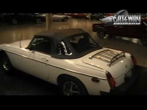 1979 MG MGB Convertible for sale at Gateway Classic Cars in IL.