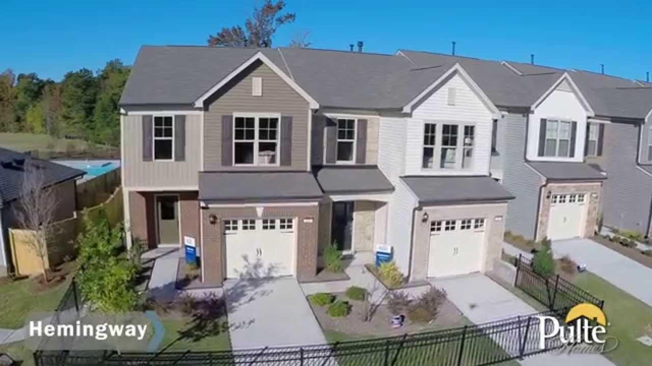 New Homes by Pulte Homes – Hemingway Floorplan