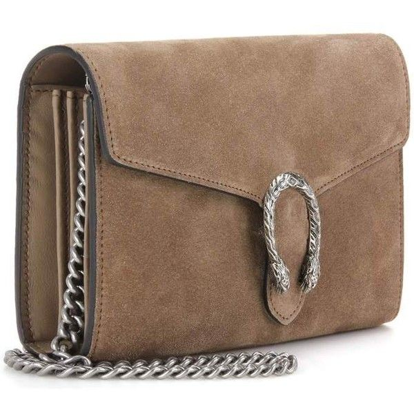 3fc7b6a2d19 Gucci Dionysus Chain Wallet Mini Suede Shoulder Bag ( 1