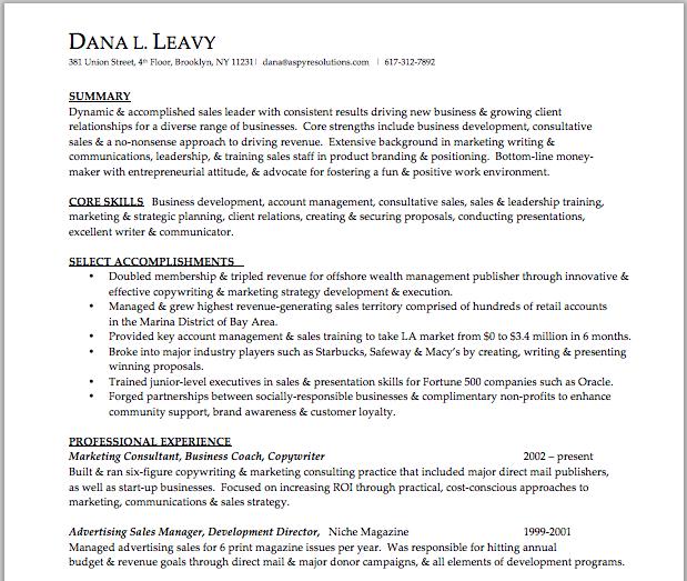 Resume Writer Direct Pleasing Senior Sales Resume  Brooklyn Resume Studio  #resumes #career .