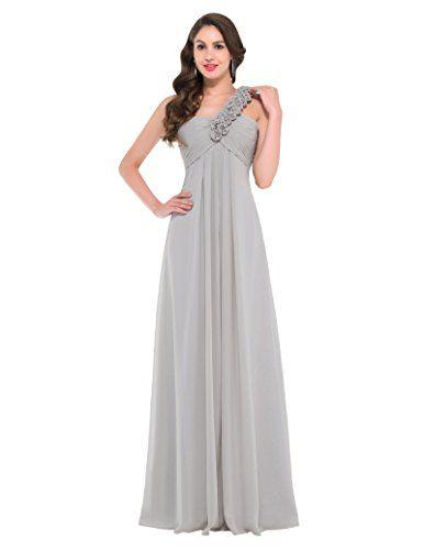 Chiffon Evening Prom Ball Gown