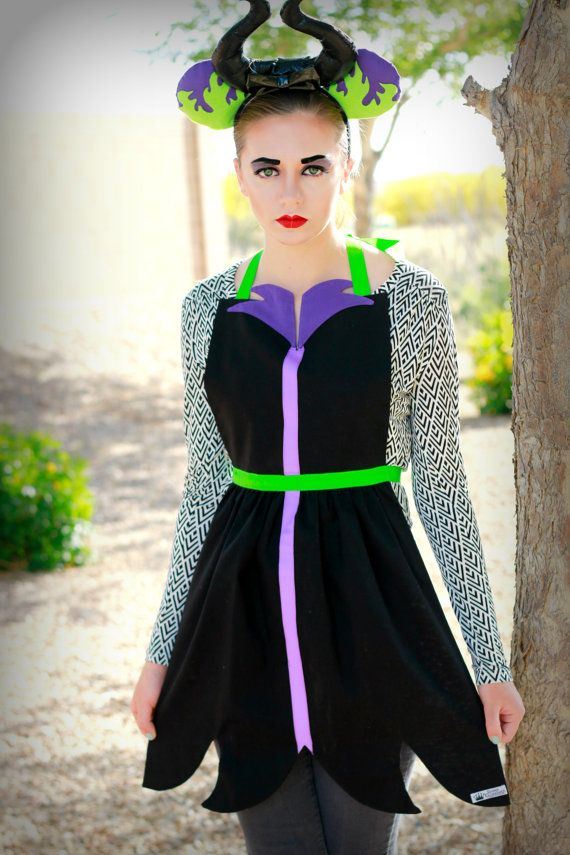 MALEFICENT Sleeping Beauty Aurora Costume by QueenElizabethAprons ...