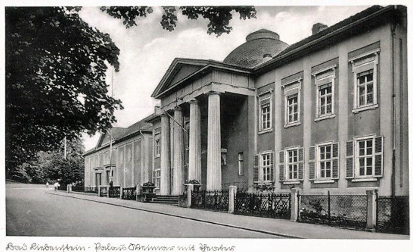 Weimar 1938 Paleis en Hoftheater