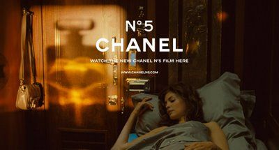 Audrey Tautou for Chanel No. 5.