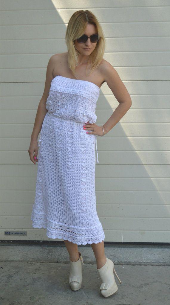 White maxi skirt wedding skirt bohemian skirt white long skirt