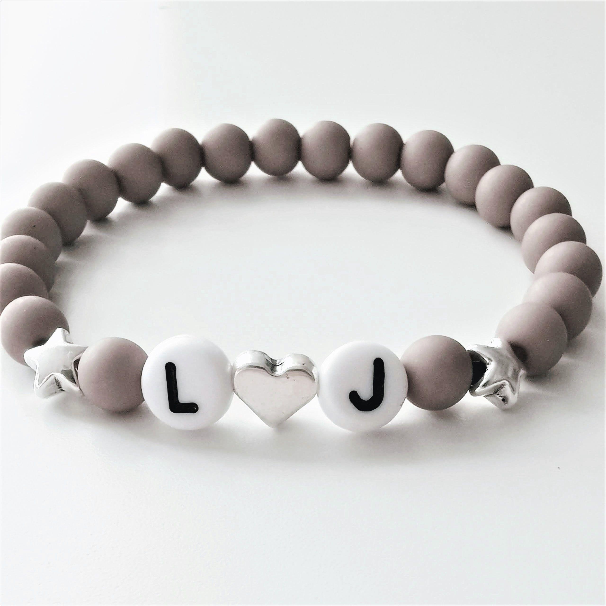 Personalisiert Schmuck für Mädchen,Armbänder mit Namen,Farbe /& Anhänger