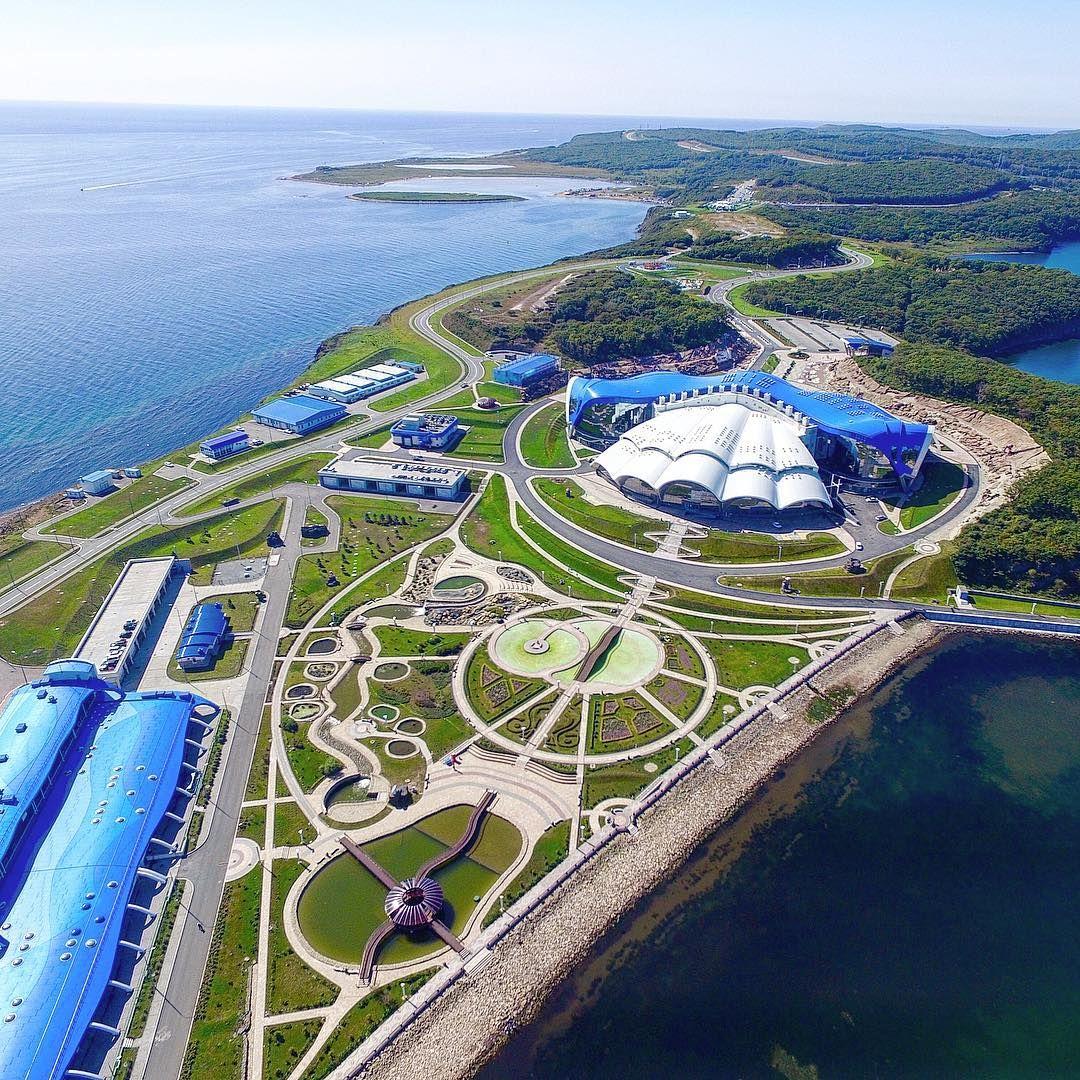 океанариум во владивостоке на острове русском фото
