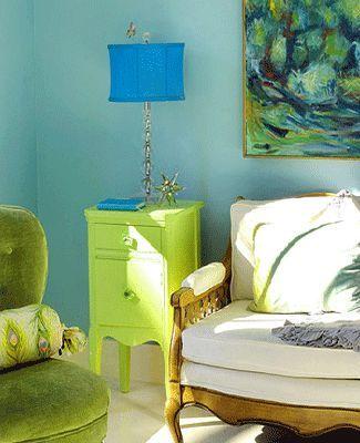 Blue Green Color Combinations Interior Paint Colors