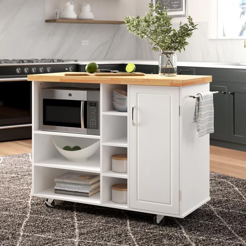 drolet kitchen cart solid wood