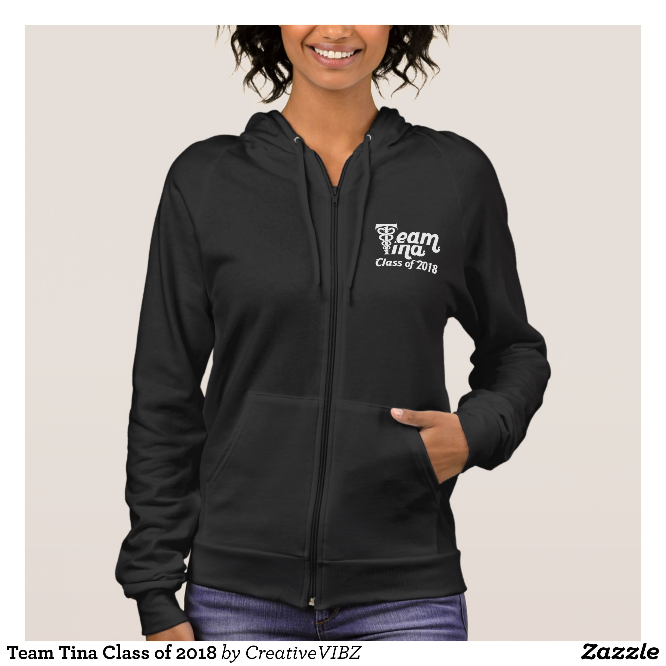 Team tina class of hoodie apparel clothing fleece hoodie and