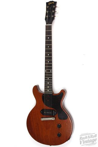 1959 gibson les paul junior double cut red rock n roll vintage guitars chicago www. Black Bedroom Furniture Sets. Home Design Ideas