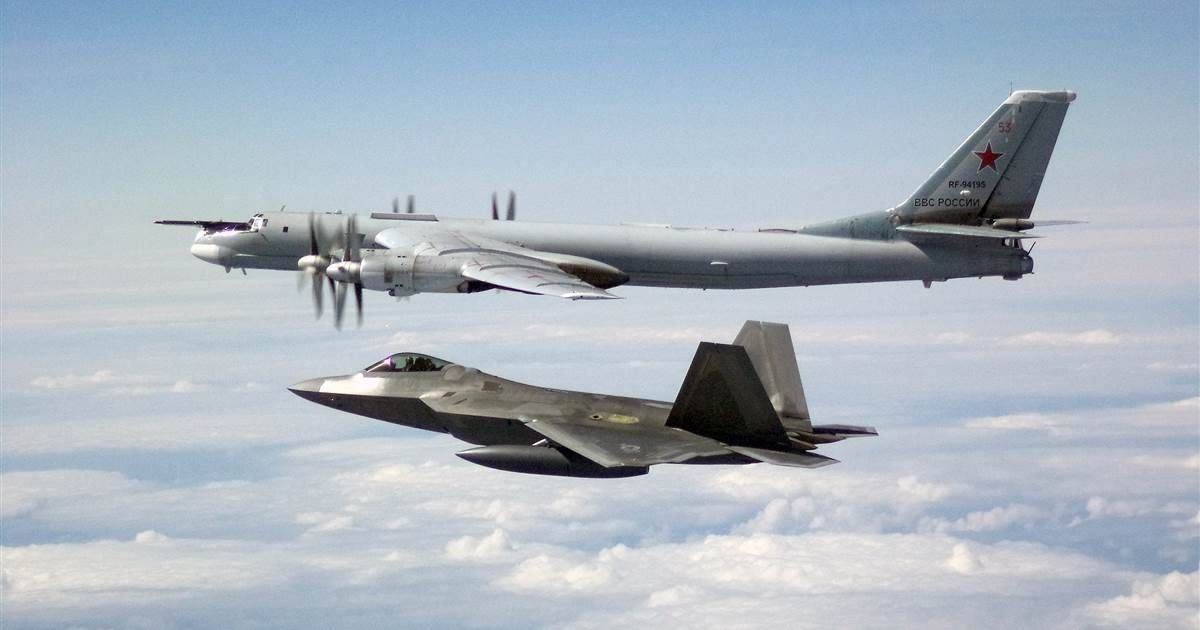 U S Fighters Intercept Russian Bombers Two Days In A Row Russian Fighter Jets Russian Fighter Fighter Jets