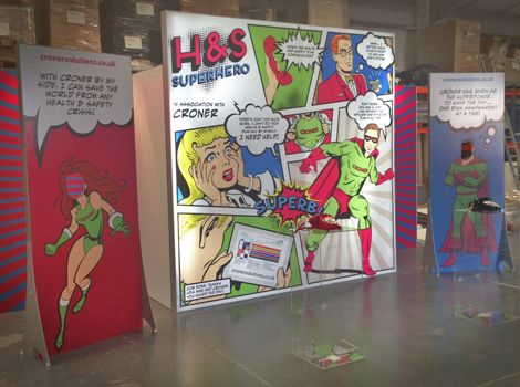 Custom Exhibition Stand Up Comedy : Comic book exhibition stand google search exhibits displays