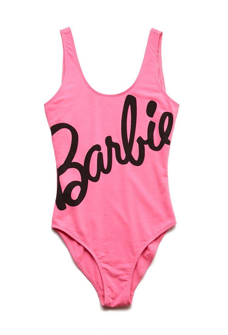 c38091db5f872 Barbie Graphic Bodysuit